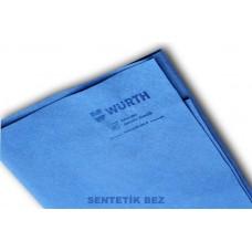 Würth Sentetik Güderi Bez 38x60 cm. Mavi Renk